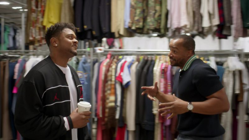 """Air Jordan Tracksuit Worn by Pooch Hall in Ray Donovan Season 6, Episode 1, """"Staten Island"""": Part 1 (2018) TV Show Product Placement"""
