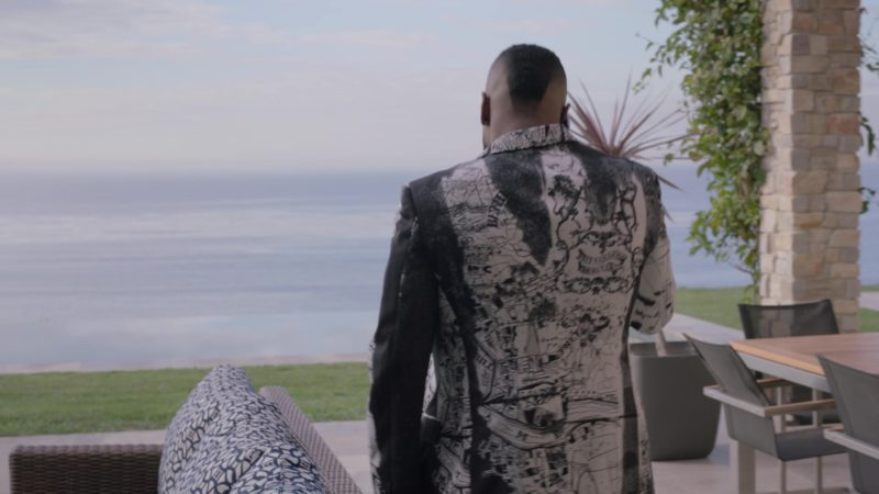 "Alexander McQueen Jacket and Pants (Suit)  Worn by John David Washington (Ricky) in Ballers: Season 4, Episode 1, ""Rough Ride"" (2018) TV Show Product Placement"