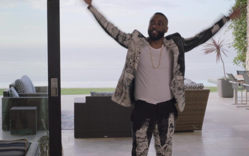 Alexander McQueen Jacket and Pants (Suit) Worn by John David Washington (Ricky) in Ballers (13)