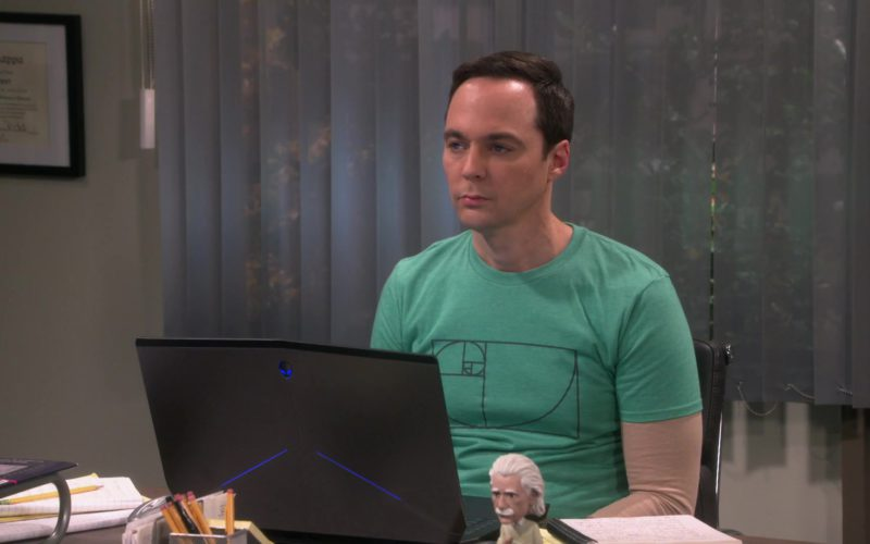 Alienware Laptop Used by Jim Parsons (Sheldon Cooper) in The Big Bang Theory (1)