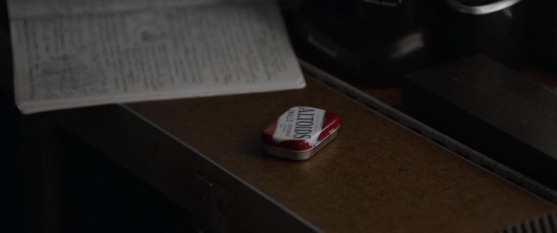 Altoids Breath Mints in Ant-Man and the Wasp (2018, Marvel Studios) Movie Product Placement