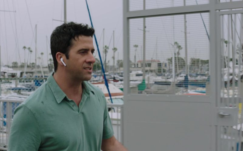 Apple AirPods Wireless Headphones Used by Troy Garity in Ballers (1)