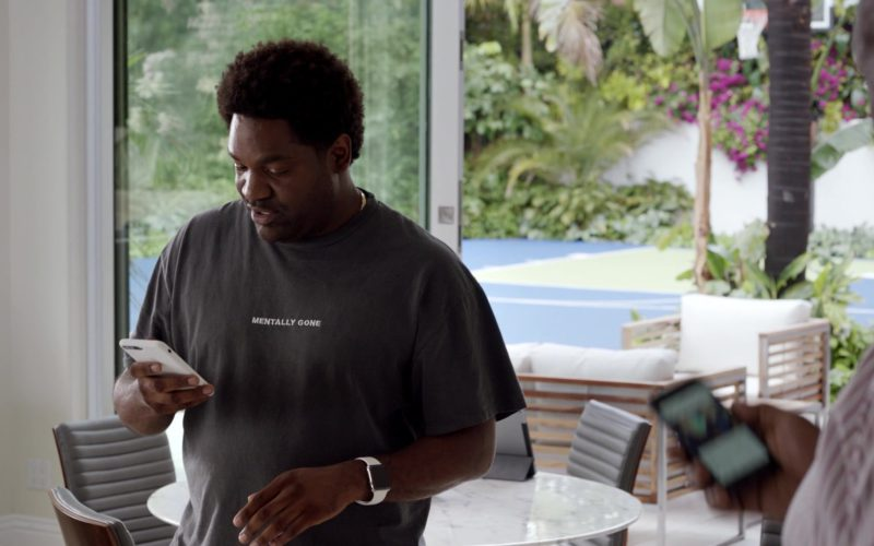 Apple Watch and iPhone in Ballers