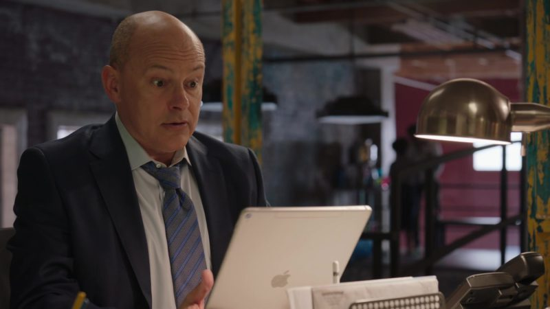 """Apple iPad Tablet Used by Rob Corddry in Ballers: Season 4, Episode 6, """"No Small Talk"""" (2018) - TV Show Product Placement"""