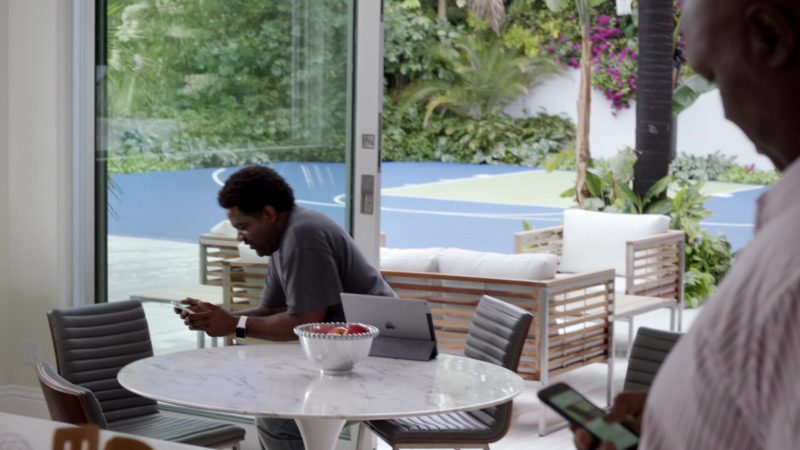 """Apple iPad Tablet in Ballers: Season 3, Episode 4, """"Ride and Die"""" (2017) TV Show Product Placement"""