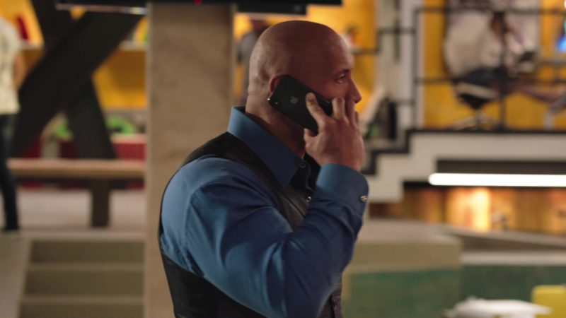 "Apple iPhone Used by Dwayne Johnson in Ballers: Season 4, Episode 4, ""Forgiving Is Living"" (2018) - TV Show Product Placement"
