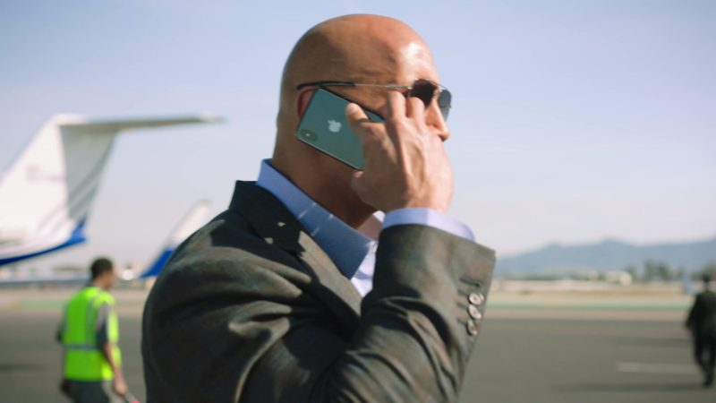 "Apple iPhone Used by Dwayne Johnson in Ballers: Season 4, Episode 8, ""The Devil You Know"" (2018) TV Show Product Placement"