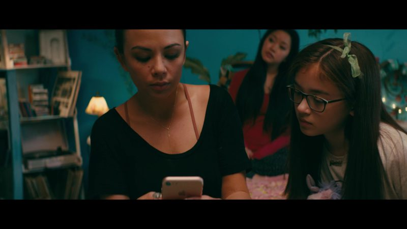 Apple iPhone Used by Janel Parrish in To All the Boys I've Loved Before (2018) Movie Product Placement