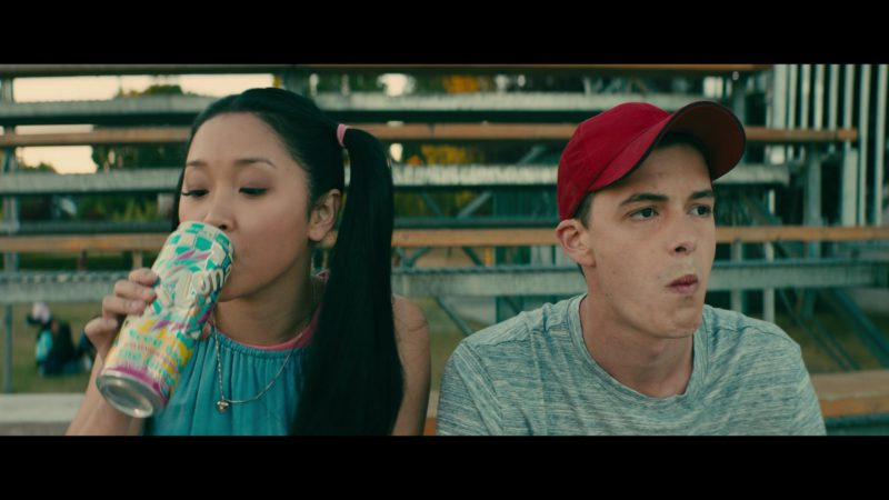 Arizona Lemon Iced Tea in To All the Boys I've Loved Before (2018) Movie Product Placement
