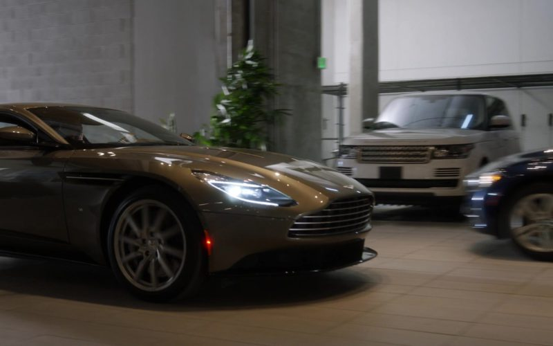 Aston Martin Car Driven by Rob Corddry in Ballers (1)