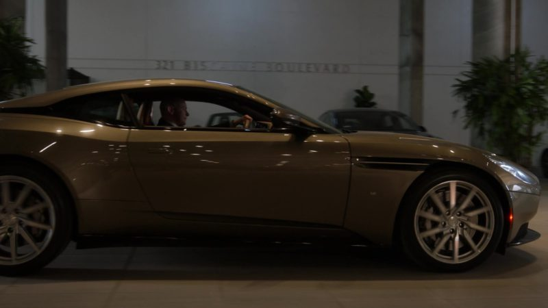 """Aston Martin Car Driven by Rob Corddry in Ballers: Season 3, Episode 2, """"Bull Rush"""" (2017) - TV Show Product Placement"""