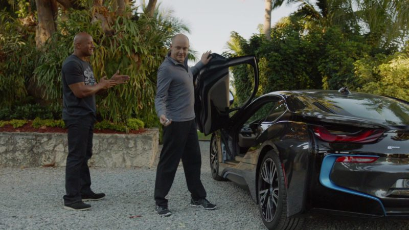 """BMW I8 Car Used by Rob Corddry (Joe) in Ballers: Season 1, Episode 7, """"Ends"""" (2015) TV Show Product Placement"""
