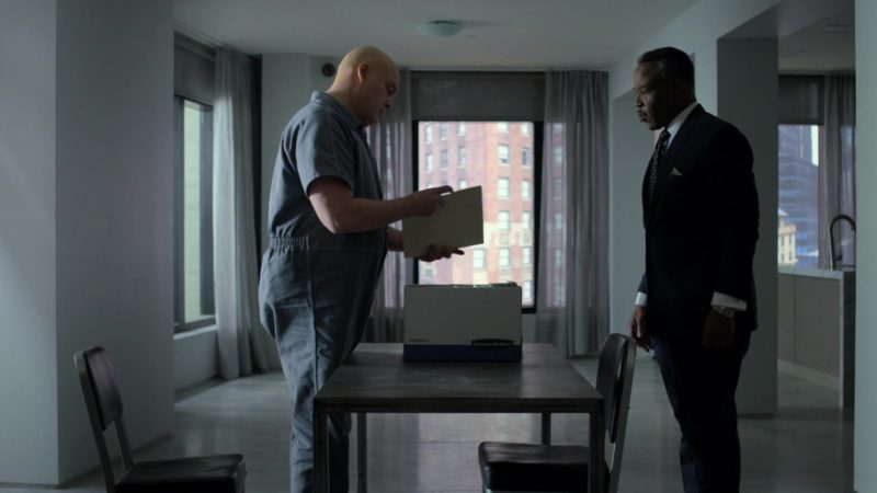 "Bankers Box in Daredevil: Season 3 Episode 5 ""The Perfect Game"" (2018) TV Show Product Placement"