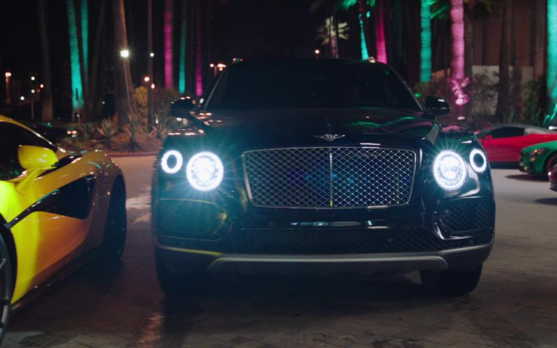 Bentley Bentayga Luxury Car Used by Dwayne Johnson in Ballers