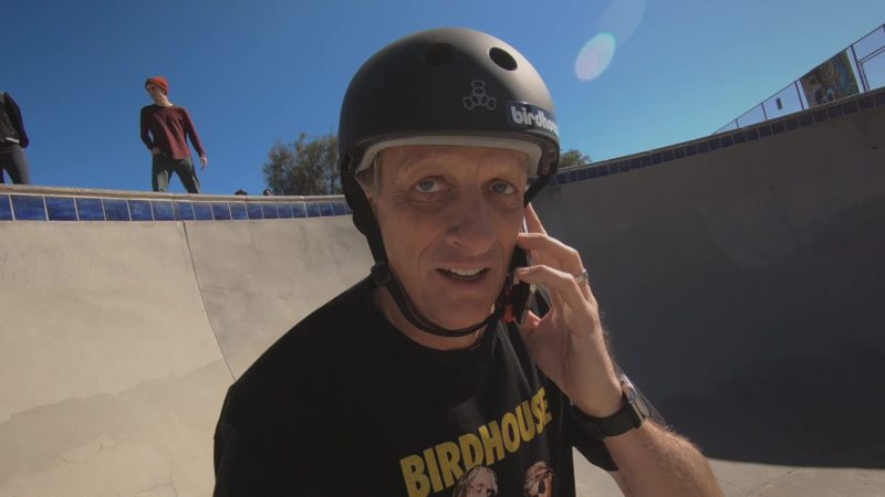 """Birdhouse Skateboards x Triple Eight Helmet Worn by Tony Hawk in Ballers: Season 4, Episode 4, """"Forgiving Is Living"""" (2018) - TV Show Product Placement"""