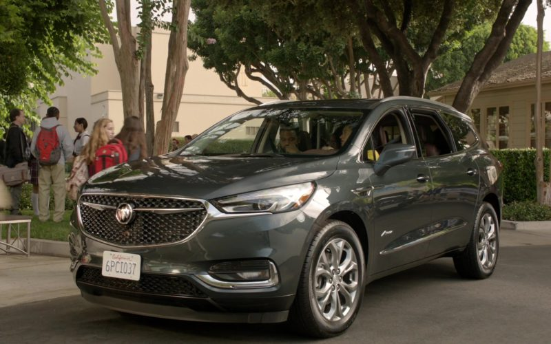Buick Enclave Sport Utility Vehicle Used by Tracee Ellis Ross in Black-ish Season 5 Episode 03 (1)