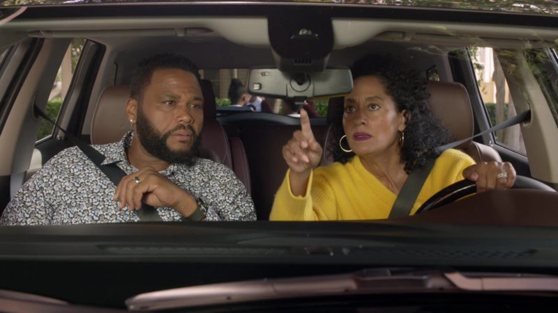 "Buick Enclave Sport Utility Vehicle Used by Tracee Ellis Ross in Black-ish Season 5 Episode 03 ""Scarred for Life"" (2018) TV Show Product Placement"