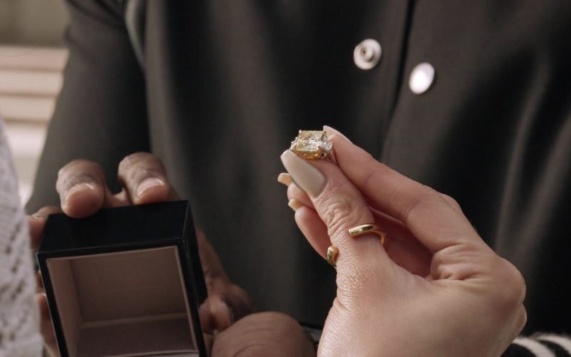Bulgari Diamond Engagement Ring in Ballers (1)