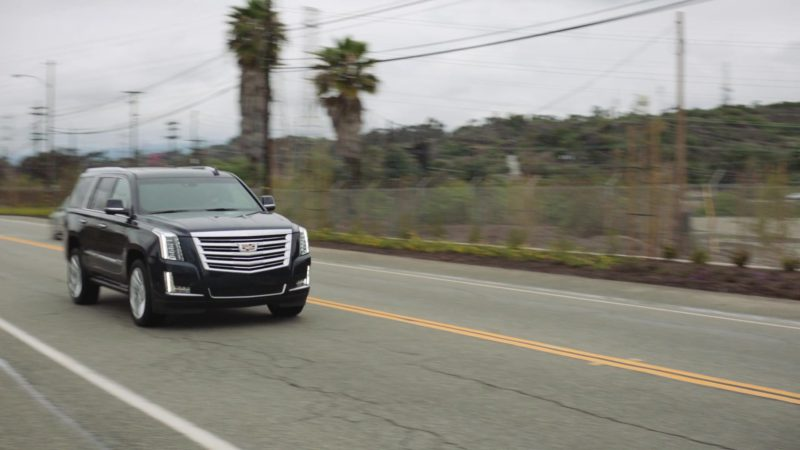 """Cadillac Escalade Car Used by Omar Benson Miller in Ballers: Season 4, Episode 6, """"No Small Talk"""" (2018) TV Show Product Placement"""