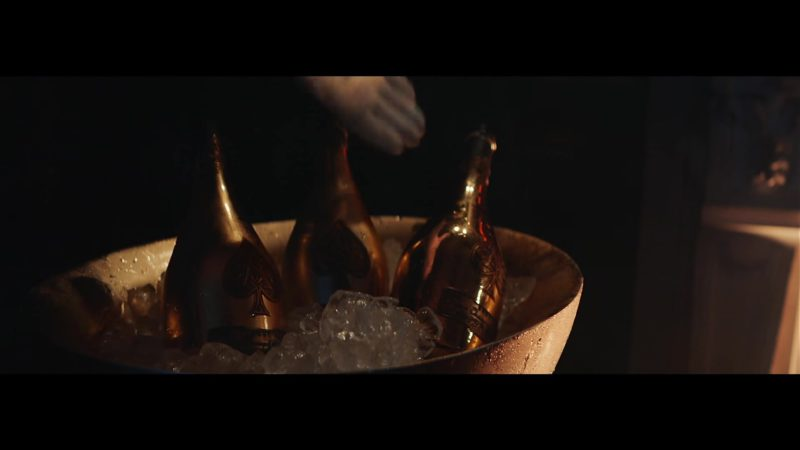Champagne Armand de Brignac in Last Memory by Takeoff (2018) - Official Music Video Product Placement
