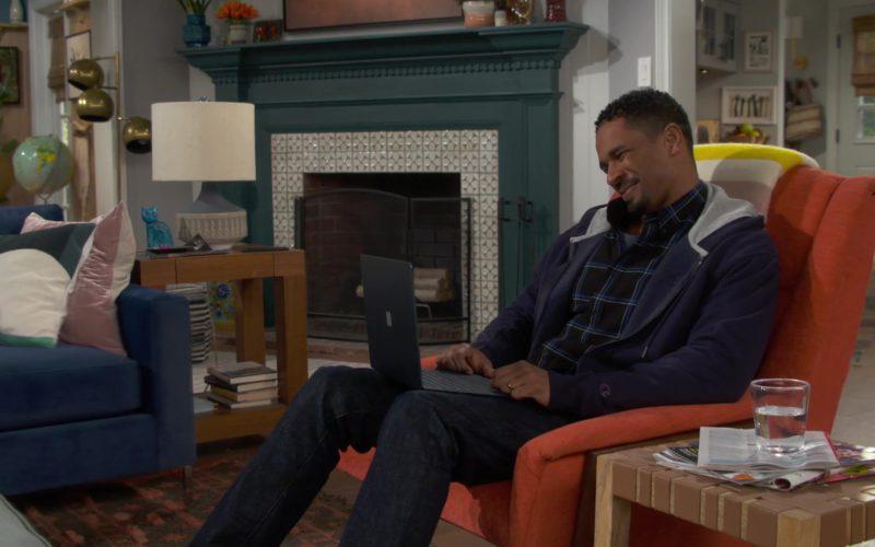 Champion Hoodie Worn by Damon Wayans Jr. (Jake) in Happy Together (1)