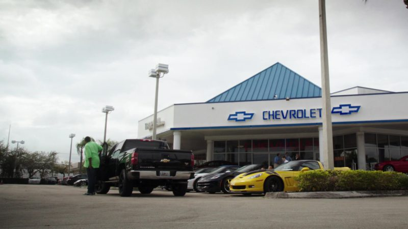"Chevrolet Car Dealership in Ballers: Season 1, Episode 1, ""Pilot"" (2015) TV Show Product Placement"