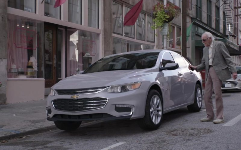 Chevrolet Grey Car in Ant-Man and the Wasp