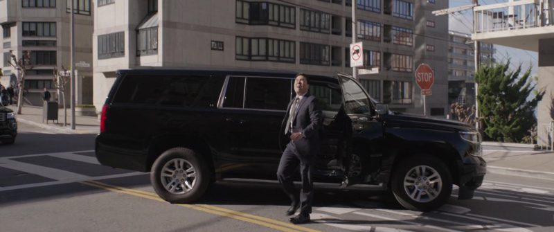 Chevrolet Suburban SUVs in Ant-Man and the Wasp (2018, Marvel Studios) Movie Product Placement