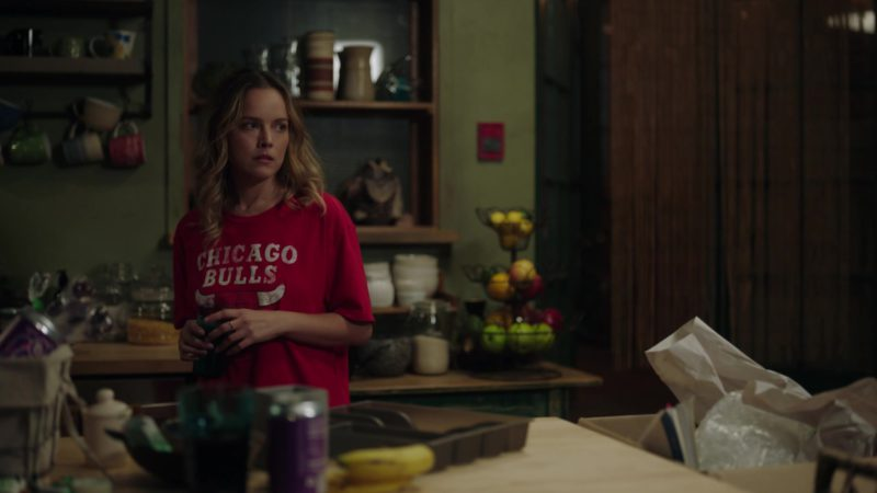 """Chicago Bulls T-Shirt in A Million Little Things: Season 1, Episode 4, """"Friday Night Dinner"""" (2018) TV Show Product Placement"""