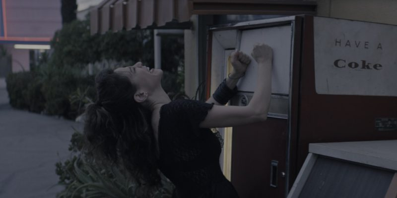 """Coca-Cola """"Have A Coke"""" Vending Machine in Glow Season 1 Episode 5: """"Debbie Does Something"""" (2017) - TV Show Product Placement"""