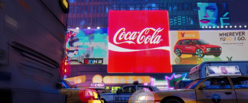 Coca-Cola in Spider-Man: Into the Spider-Verse (2018) Animation Movie Product Placement