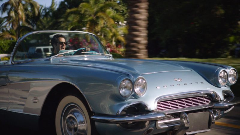 """Chevrolet Corvette C1 Vintage Car Used by Troy Garity (Jason) in Ballers: Season 1, Episode 4, """"Heads Will Roll"""" (2015) - TV Show Product Placement"""