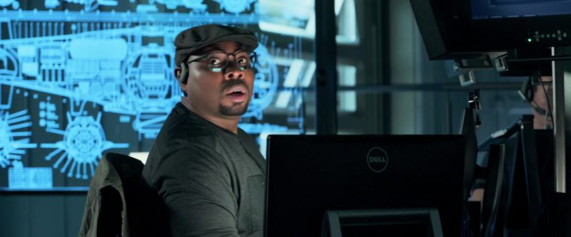 Dell All-In-One PC Used by Page Kennedy in The Meg (2018) - Movie Product Placement