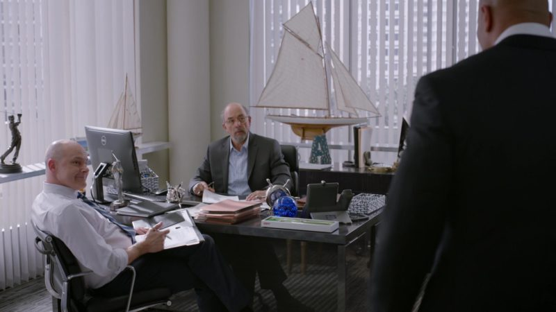 "Dell Computer and Cisco Phone in Ballers: Season 2, Episode 9, ""Million Bucks in a Bag"" (2016) TV Show Product Placement"