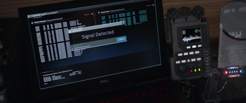 Dell Laptop Used by Michael Douglas in Ant-Man and the Wasp (2018, Marvel Studios) Movie Product Placement