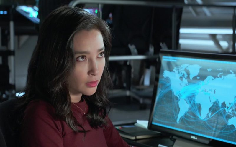 Dell Monitor Used by Li Bingbing in The Meg (1)