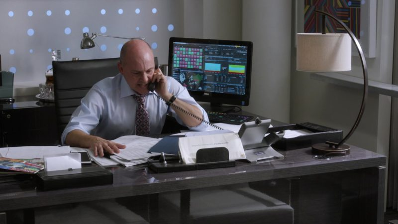 "Dell Monitor and Cisco Phone Used by Rob Corddry (Joe) in Ballers: Season 3, Episode 5, ""Make Believe"" (2017) TV Show Product Placement"