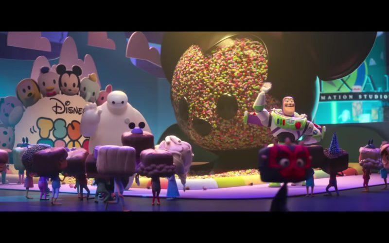 Disney and Pixar in Ralph Breaks the Internet