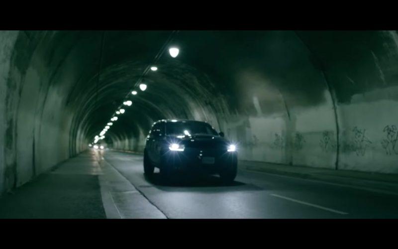 Dodge Durango SRT Black Car in Trip by Ella Mai (1)