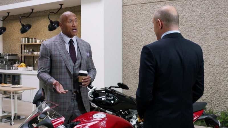 """Ducati Motorcycles in Ballers: Season 3, Episode 8, """"Alley-Oops"""" (2017) - TV Show Product Placement"""