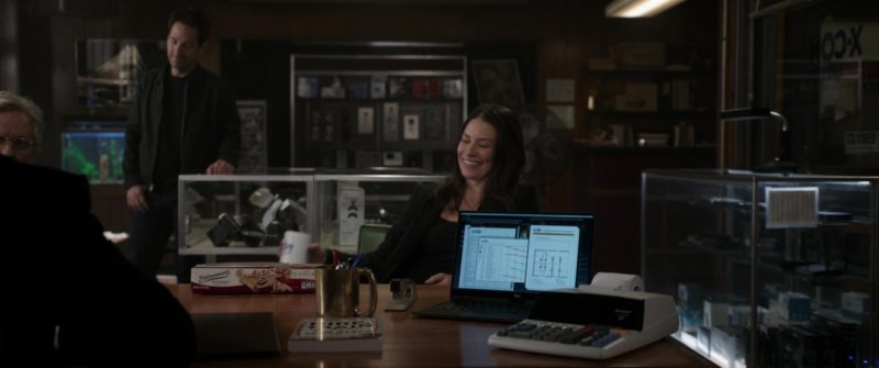 Entenmann's Raspberry Danish Twist and DELL Laptop in Ant-Man and the Wasp (2018, Marvel Studios) Movie Product Placement