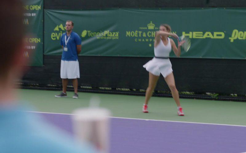 Evian Water, Tennis Plaza, Moët & Chandon, Head, PENN in Ballers
