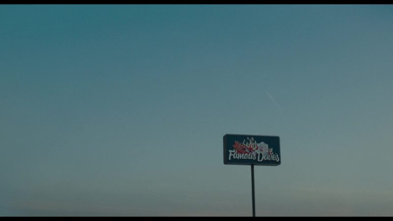 Famous Dave's Restaurant in Private Life (2018) Movie Product Placement