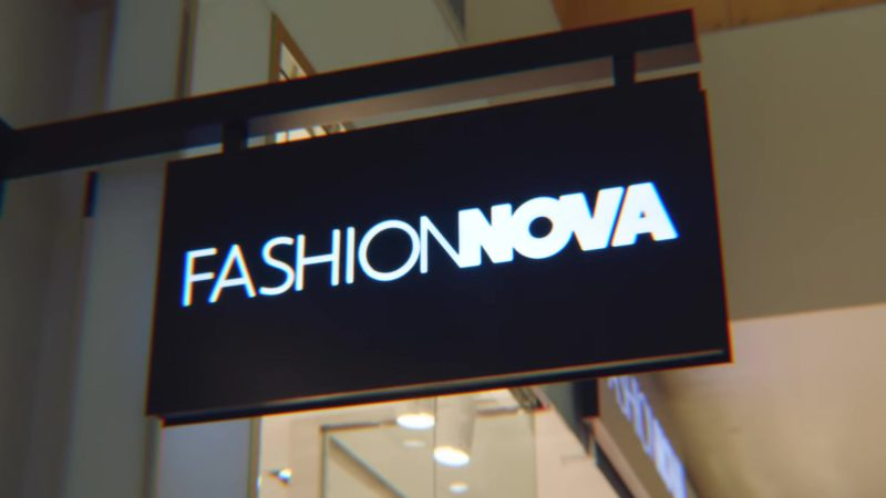 "Fashion Nova Store in ""Juice"" by Bhad Bhabie feat. YG (2018) Official Music Video Product Placement"