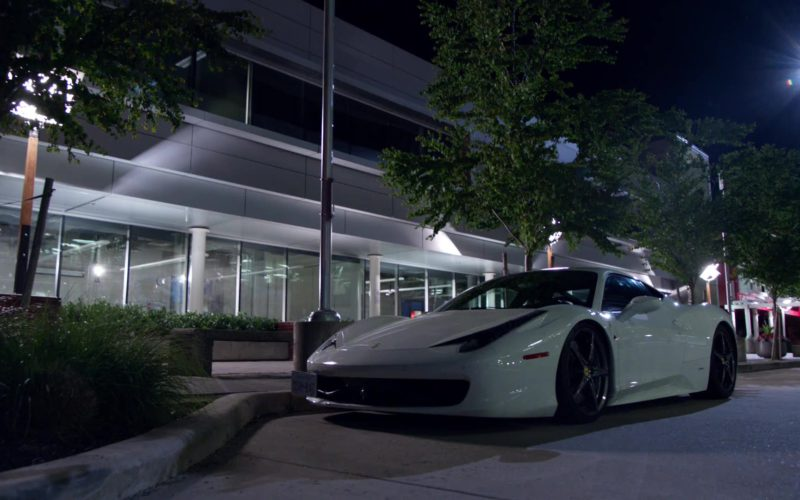 Ferrari White Sports Car in Arrow (1)