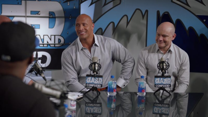 """Fiji Water in Ballers: Season 2, Episode 1, """"Face of the Franchise"""" (2016) - TV Show Product Placement"""