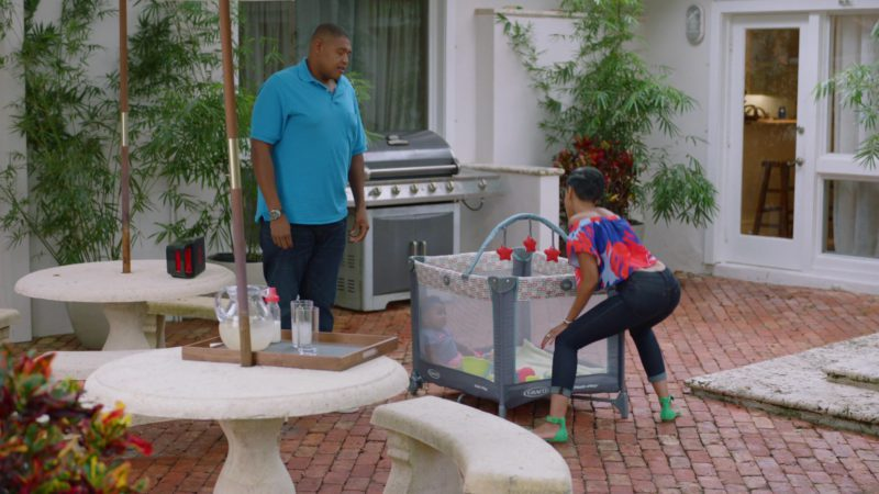 "Graco Pack 'n Play On the Go Playard in Ballers: Season 2, Episode 7, ""Everybody Knows"" (2016) - TV Show Product Placement"