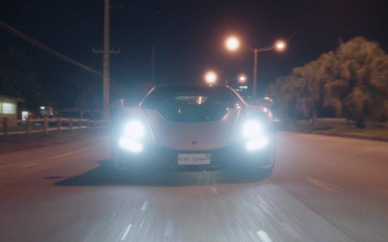 Gta Spano White Sports Car in Ballers (1)