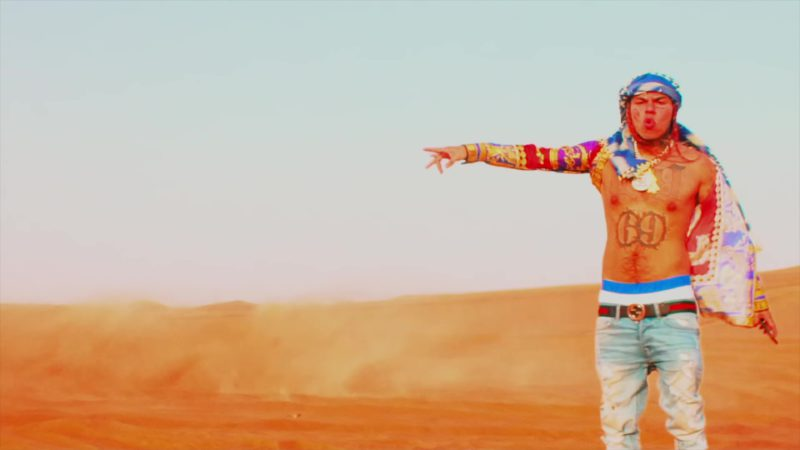"""Gucci Belt Worn by 6ix9ine in """"Stoopid"""" (2018) Music Video Product Placement"""