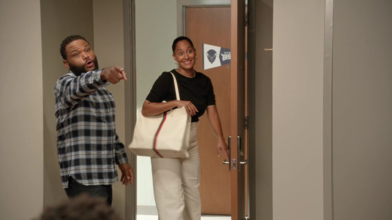 "Gucci Women's Handbag in Black-ish: Season 5, Episode 1, ""Gap Year"" (2018) TV Show Product Placement"